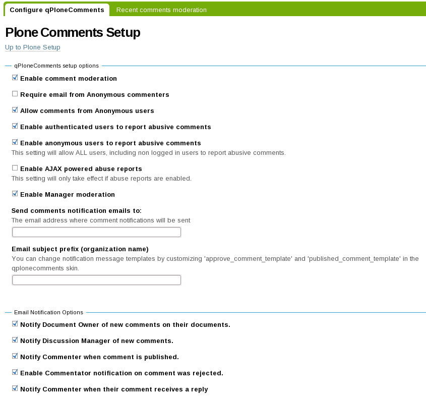 Qplonecomments Quintagroup Plone Products